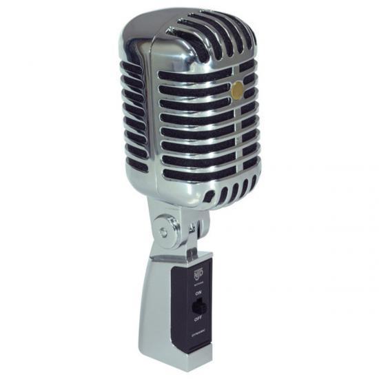 Retro-Style Elvis-Mikrofon