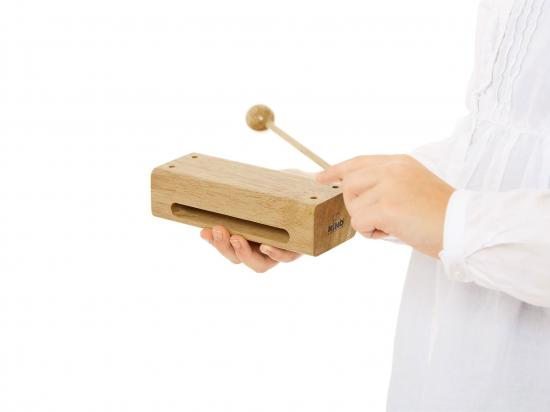 Holzblock Gross mit Beater