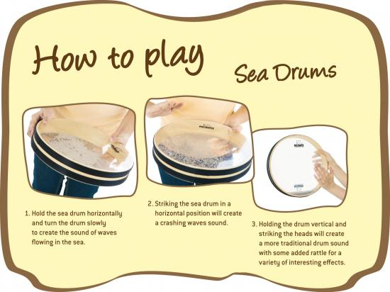 Sea-Drum 8-Zoll Natur