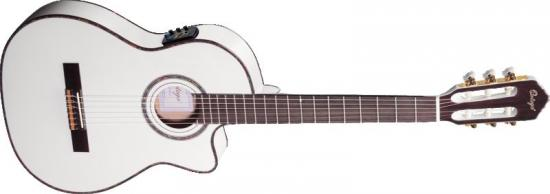 RCE145WH Konzertgitarre Thinline