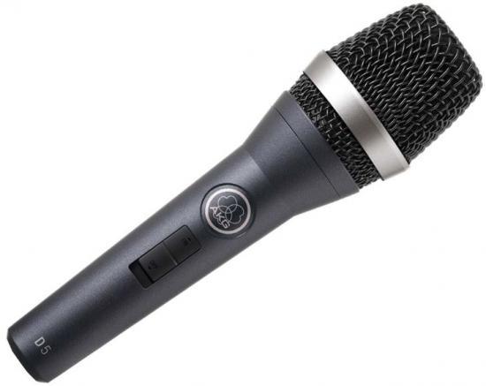 D5-S dynamisches Gesangsmikrofon mit Schalter