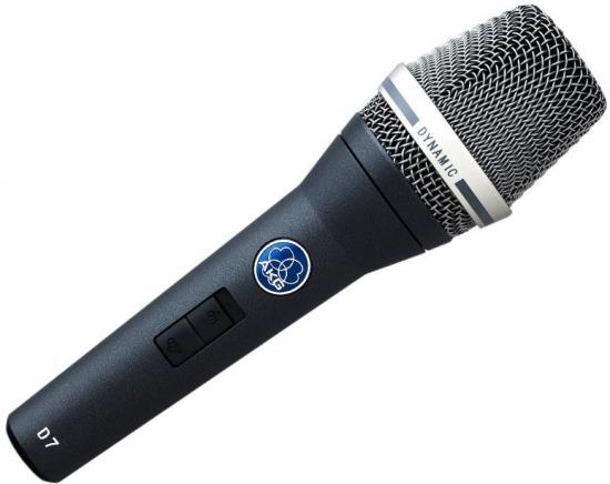 D7-S Gesangsmikrophon mit Schalter