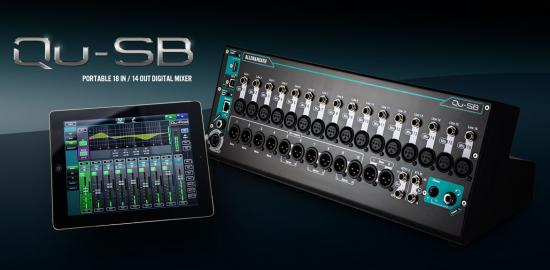 QU-SB Digital-Mixer 18IN/14Out