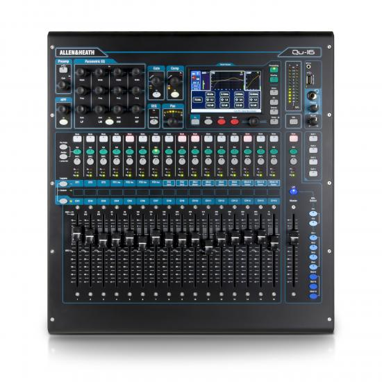 Qu-16 Chrome Digitalmixer