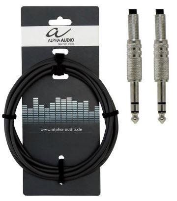 Instrumentenkabel Stereo 3m