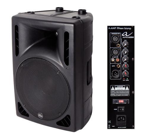 Aktiv-Box A-Amp fifteen Biamp