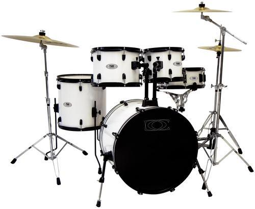 DC1 Schlagzeug-Set weiß