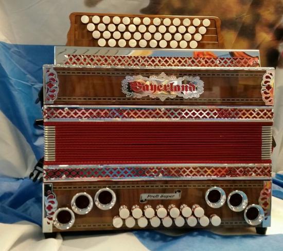 Harmonika Profi Super-4