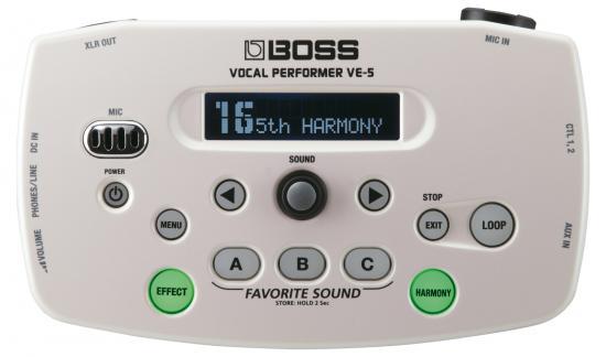 VE-5 Vocal-Performer weiß
