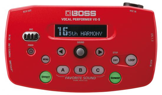 VE-5 Vocal-Performer rot