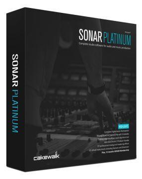 Sonar Platinum Recording-Software