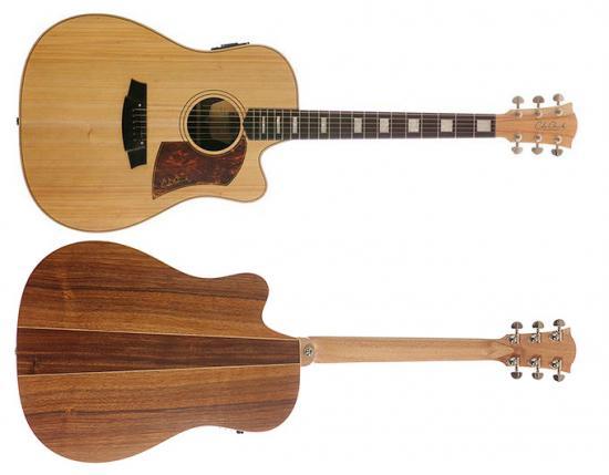 FL2EC-BB Bunya Blackwood E-Akustikgitarre