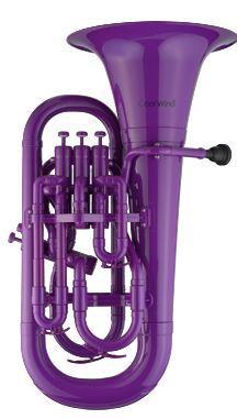 Euphonium Violett mit Softbag