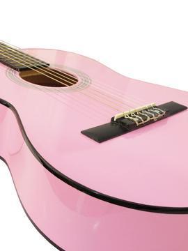 AC-303 pink Klassik-Gitarre 3/4