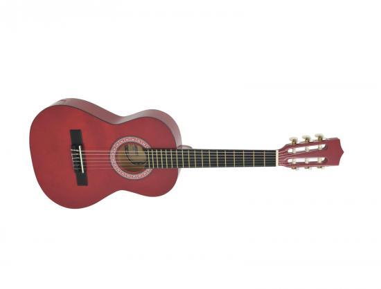AC-303 Kindergitarre rot