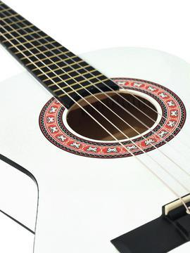 AC-303 Kindergitarre weiss