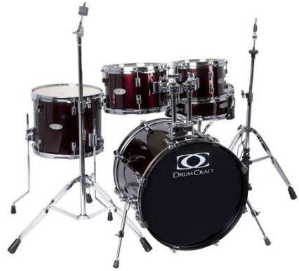 Fusion-3 Drumset Redwine