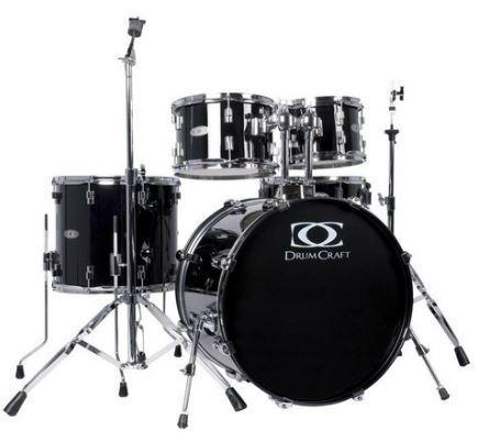 Fusion-3 Drumset Jack-Black