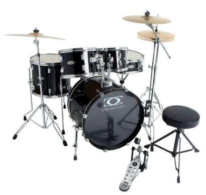 Progressive Drumset-Bundle Jack-Black