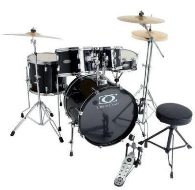 Fusion-1 Drumset-Bundle Jack-Black