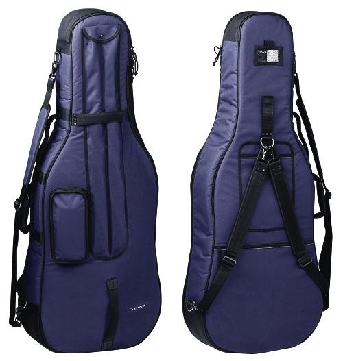 Cellosack PRESTIGE 4/4 blau
