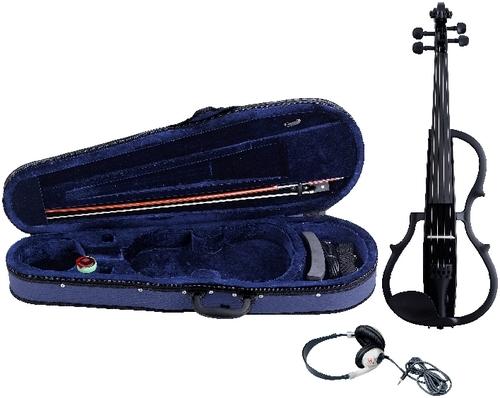 E-Violine schwarz