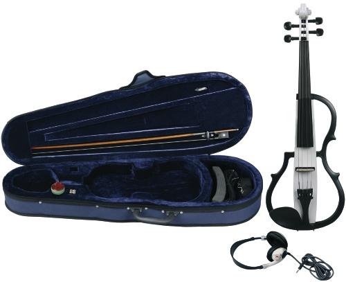 E-Violine weiß