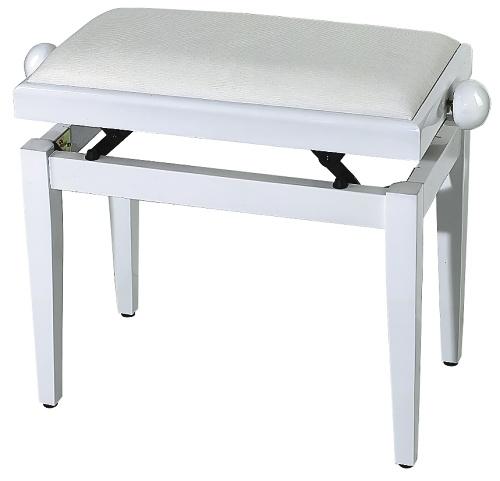 FX Pianobank Weiß Hochglanz