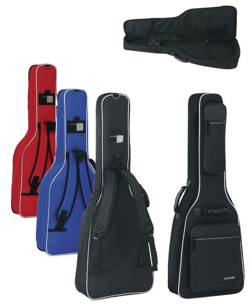 Premium-Tasche Westerngitarre rot