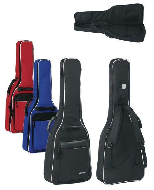 Tasche 1/4-1/8-Konzertgitarre schwarz