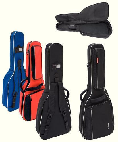Gig Bag rot Gitarre Premium 20 Line Konzert 4/4