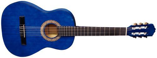Konzertgitarre Classic-Blau 3/4