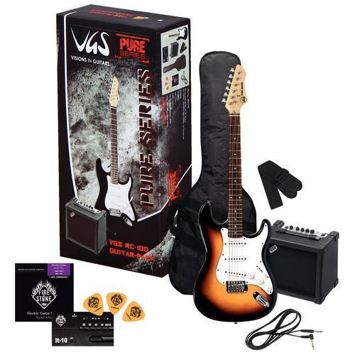 RC-100 E-Gitarren-Set Sunburst