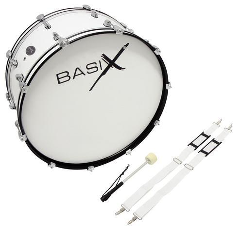 Marching Bassdrum 24x10Zoll