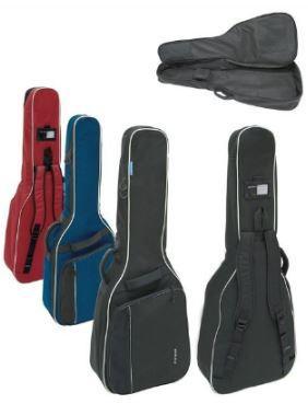 Tasche 1/4-1/8-Konzertgitarre blau