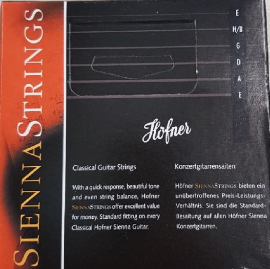 Gitarrensaiten Standard Sienna