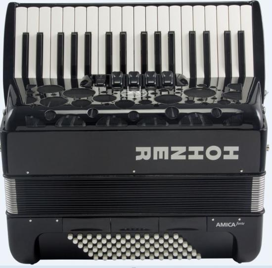 Amica-III-72 Silent-Key schwarz