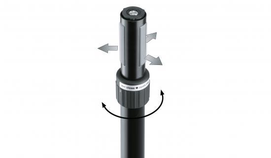 Boxenschrägsteller Ring Lock