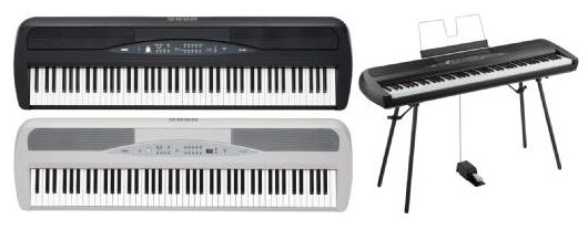 SP-280 Digital Piano schwarz