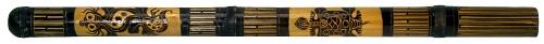 Didgeridoo Bambus graviert