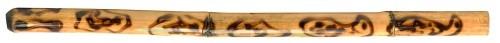Didgeridoo Bambus geflammt