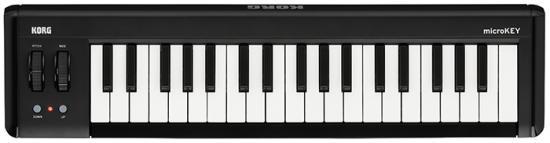 microKEY37 Kompaktes Midi-Keyboard