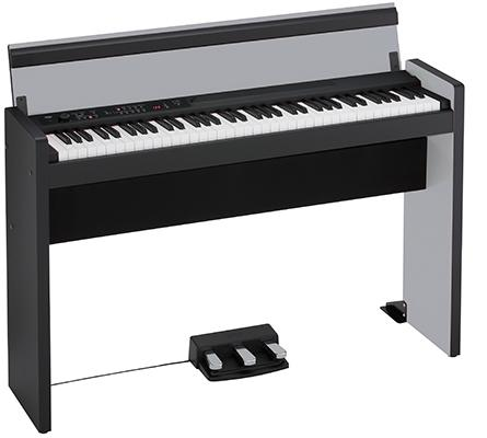 LP-380 Digital-Piano Silver-Black