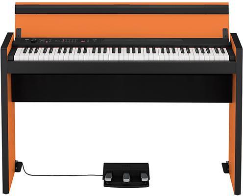 LP-380 Digital-Piano Orange-Black
