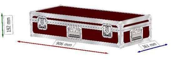 Transportcase für 2xIN8 Säulenlautsprecher