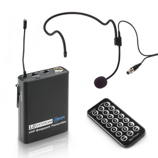 Roadbuddy-6 Akkulautsprecher mit Headset