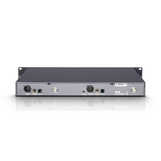WIN42HHD2-Funksystem 2 Handmikrofone dynamisch