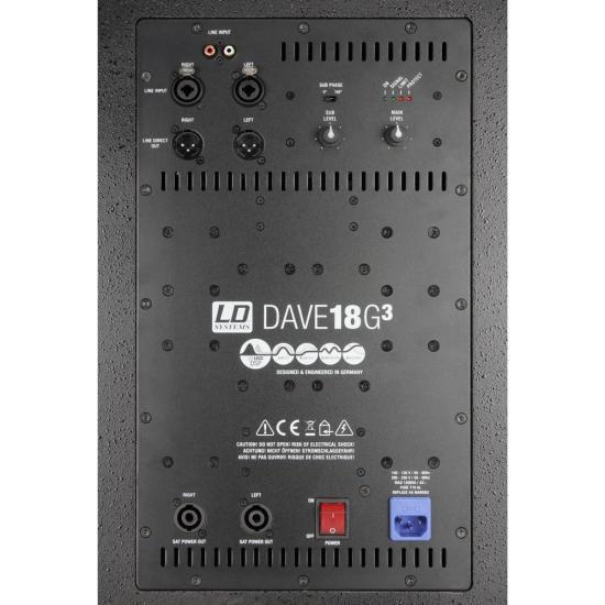 DAVE18G3 kompaktes PA-System