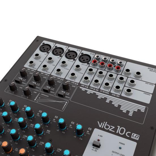 VIBZ-10C Mischpult mit Kompressor