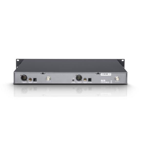 WIN42BPH2-Funksystem 2 Headsets schwarz